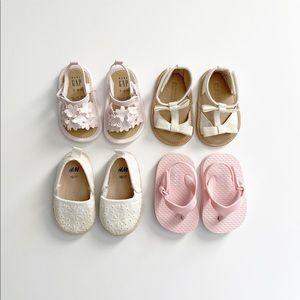 Gap/Old Navy/H&M Shoe Bundle (4 pairs) 3-6 Months